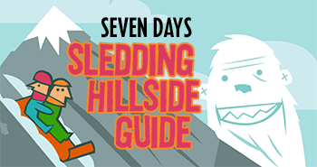 SEVEN DAYS Sledding Hillside Guide
